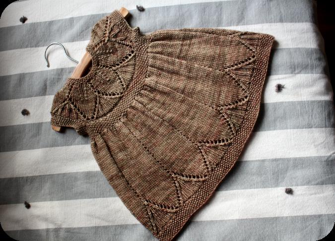 Clara Dress Knitting Pattern : Never Not Knitting: Clara