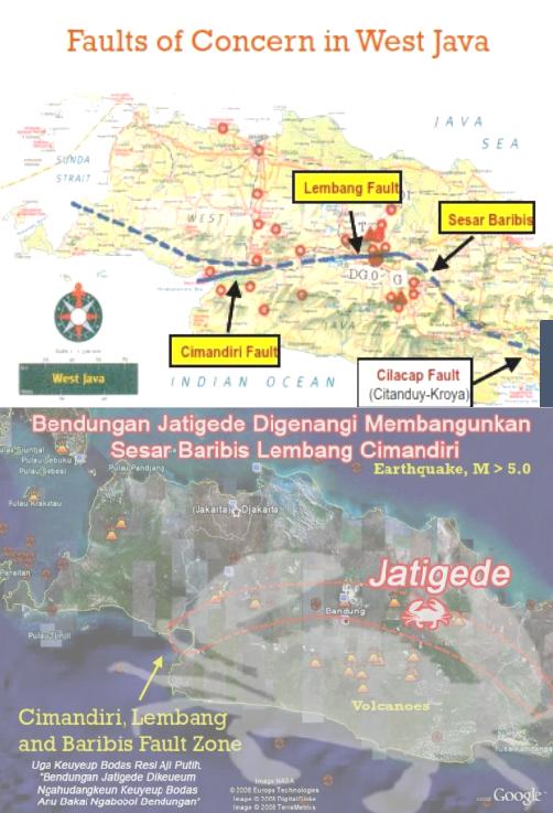 Jatigede Digenangi Akan Mengaktifkan Sunda Mega Thrust Aktif?