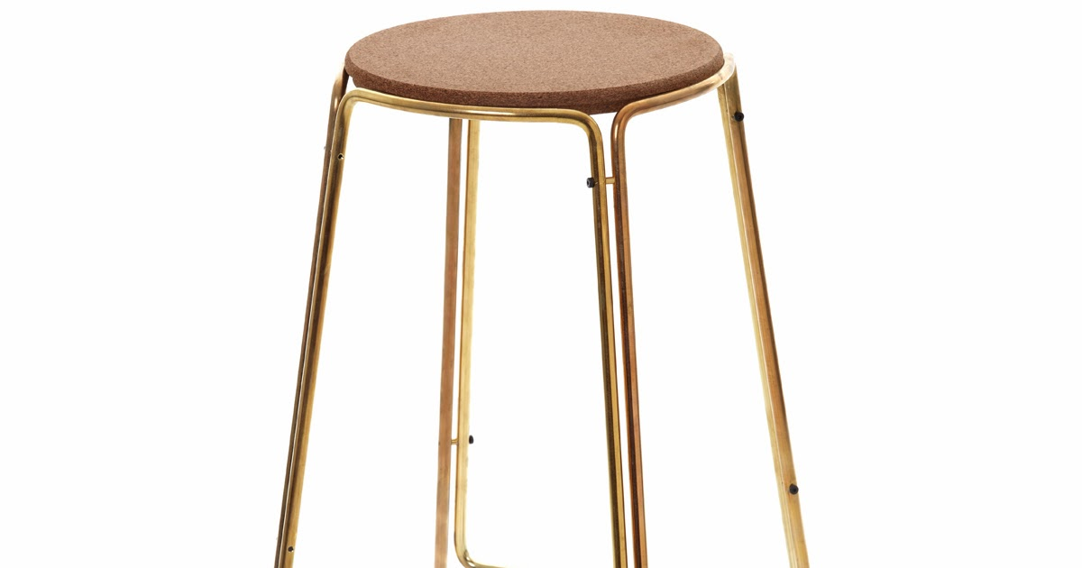 Leather Sling Counter Stool