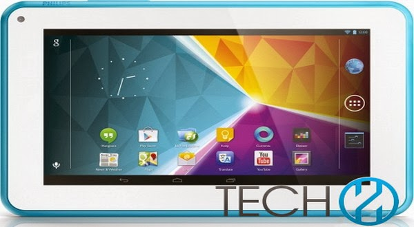 Philips Amio Luncurkan Tablet Android Jelly Bean