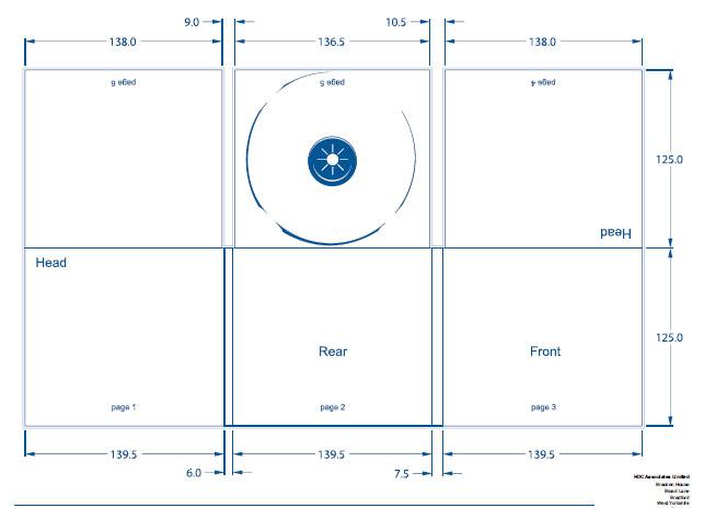 shannon jinks charlotte joyce a2 media digipak template. Black Bedroom Furniture Sets. Home Design Ideas