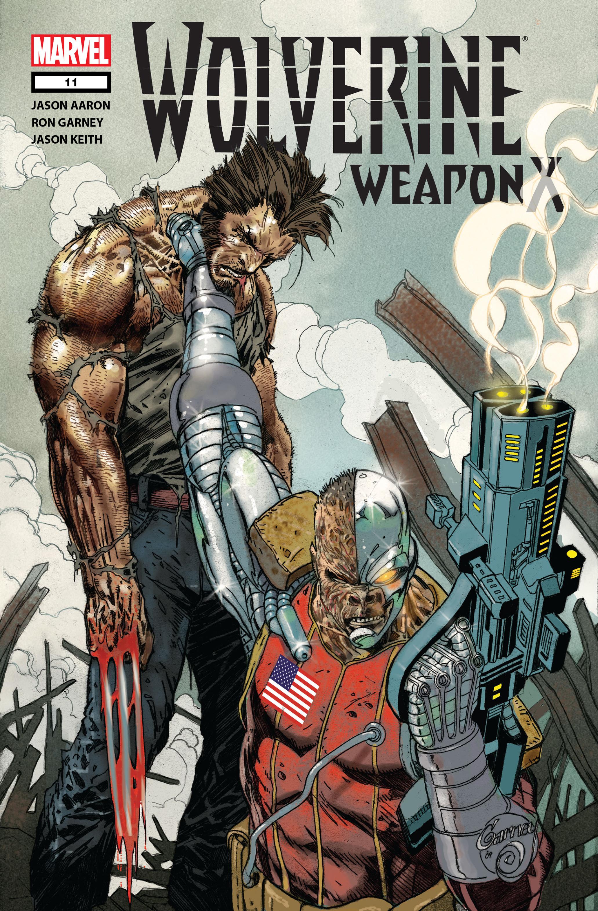 Wolverine: Weapon X #11 #6 - English 1