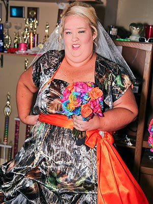 Honey Boo Boos Mother Is A Non Traditional Bride
