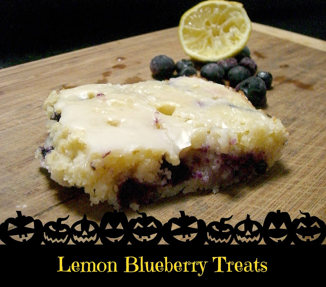 ~ lemon blueberry treats ~