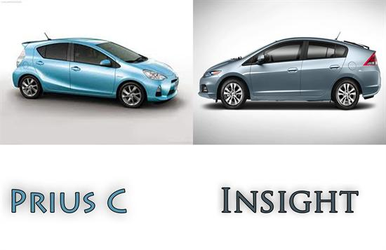 Prius C vs Insight