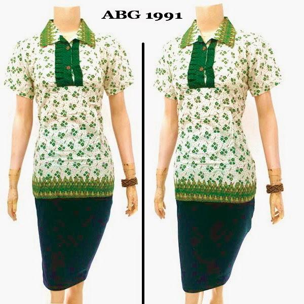 Baju Batik Abg Solo