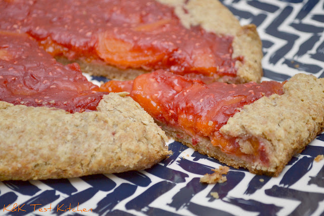 raspberry apricot crostata tart recipe