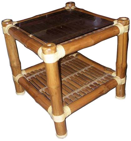 Bamboo End Table1