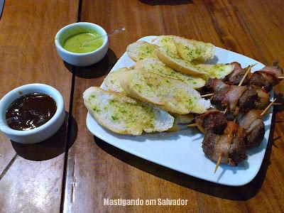 Caranguejo de Sergipe: Filezinho com Bacon e Torradas