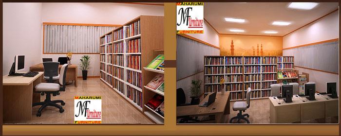 Setting Ruangan Perpustakaan Library