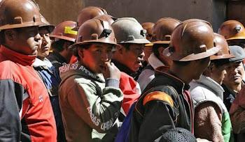 mineros se oponen a la nacionalización de las empresas en las que trabajan