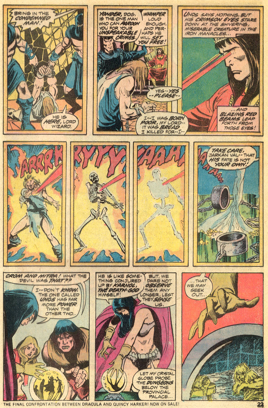 Conan the Barbarian (1970) Issue #50 #62 - English 14