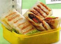 Sandwich Burger Goreng Enak