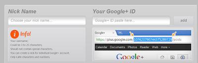 custom GPlus URL