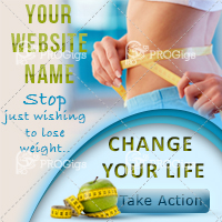 Lose Weight Web Banner Small square: 200×200