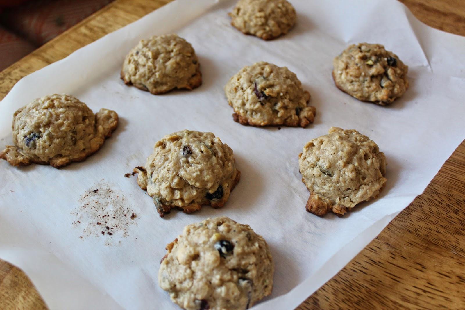 Trailways Oatmeal Cookies // Runaway Apricot