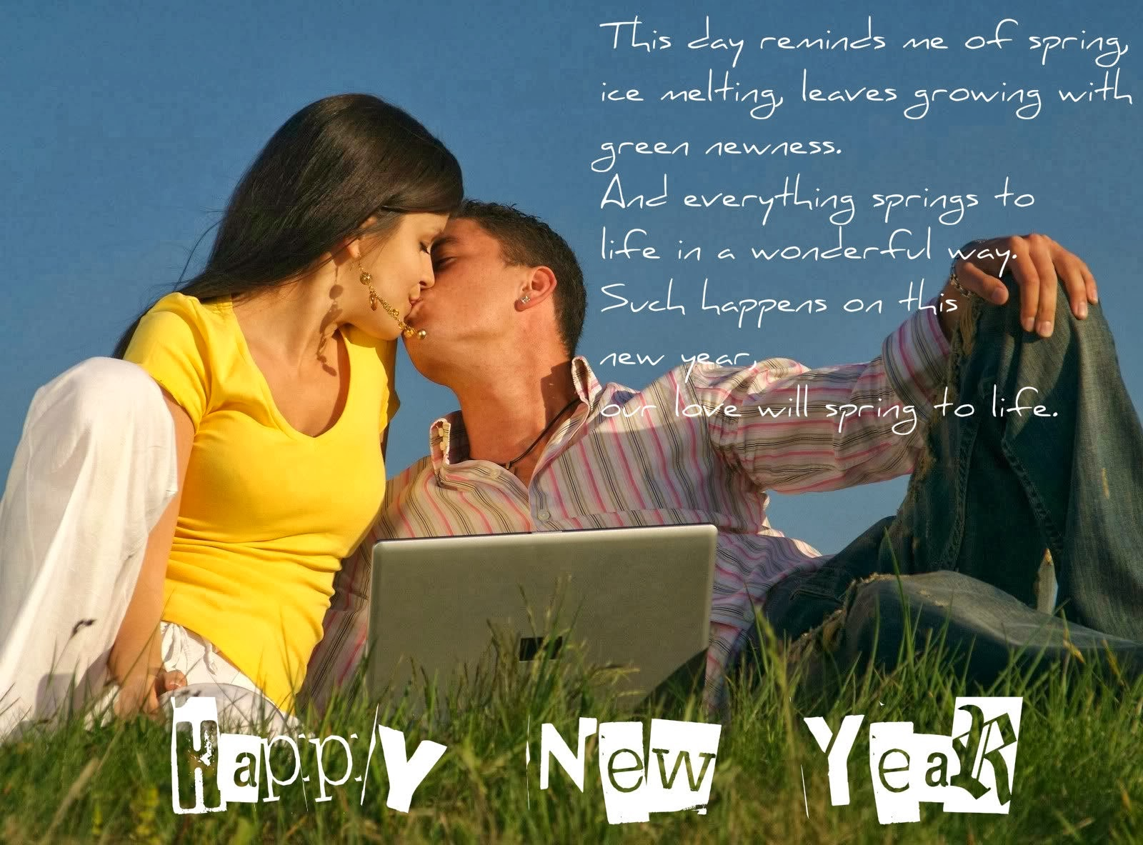 Romantic New Years Photos 2015