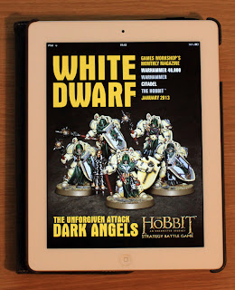 The front cover of White Dwarf