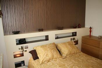 Techos de pladur cabecero de cama en pladur - Cabeceros de cama diseno ...