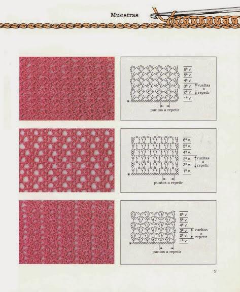 Вязание крючком полотна 12