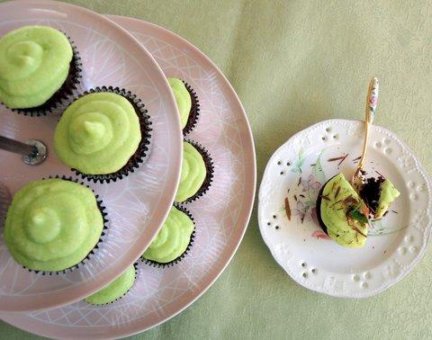 Choco-Mint Cupcakes