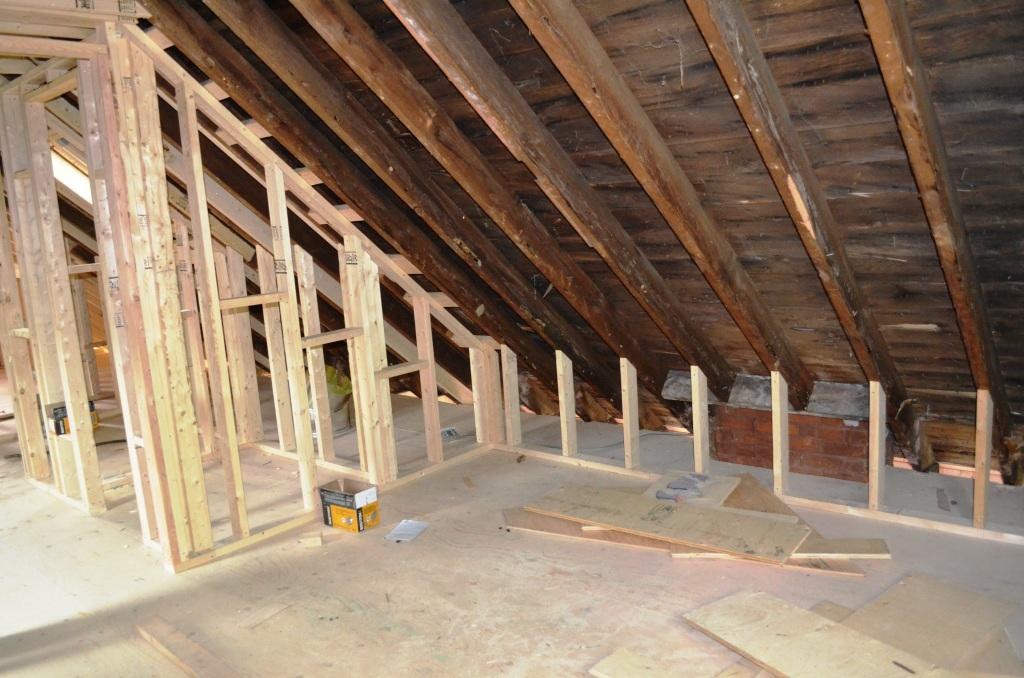 Attic Bedroom Floor Joists