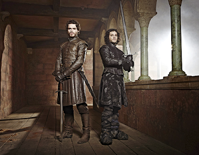 Robb Stark Richard Madden Jon Nieve Kit Harington Entertainment  Weekly - Juego de Tronos en los siete reinos