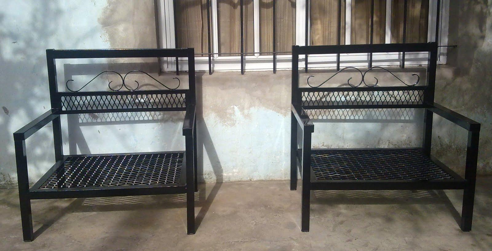 Herreria en general las 24 hs sillones de hierros for Sillones para balcon