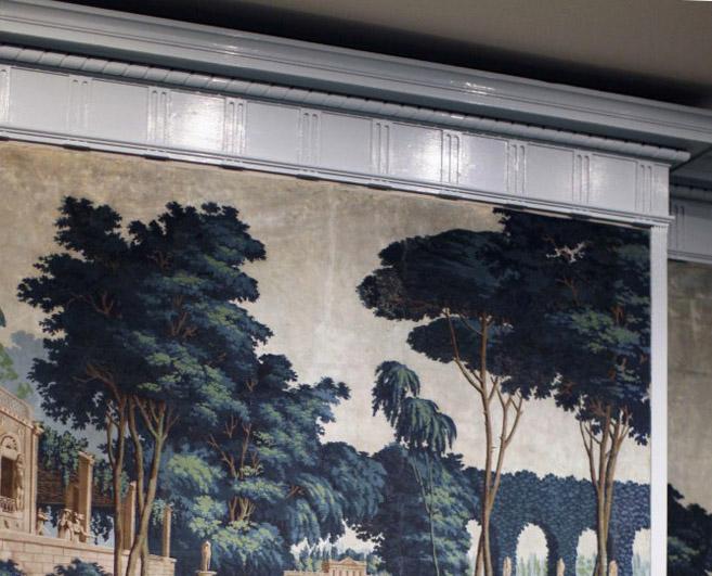 Inspiration scenic wall murals tapestry poppytalk for Anthropologie arcadia mural