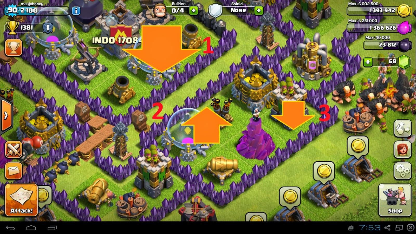 map town hall 9 clash of clans