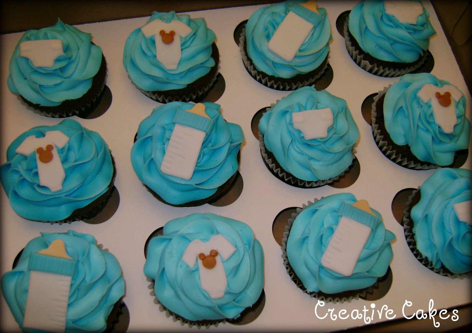 creative cakes baby shower cupcakes