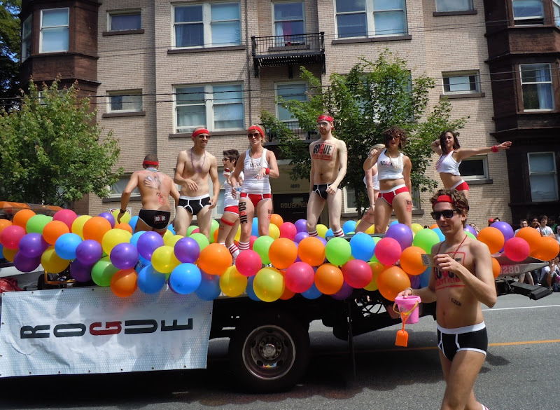 Vancouver Pride Parade Rogue float