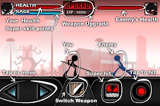 Game Android - iKungfu Stickman Kungfu master