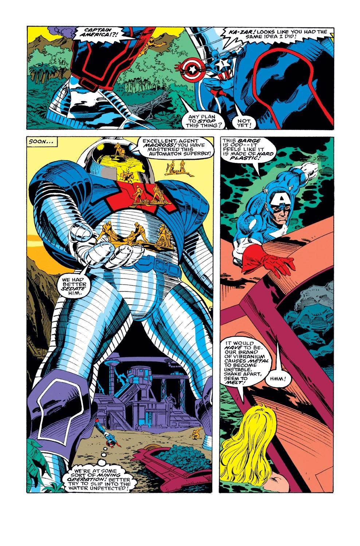 Captain America (1968) Issue #417 #366 - English 22