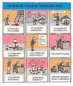 LO QUE HAY DETRÁS DE UN GRAN NOVELISTA