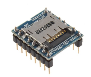 Modulo MP3 WTV020-SD Arduino