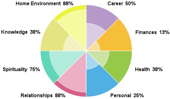 The Progressive Planner The Wheel Of Life