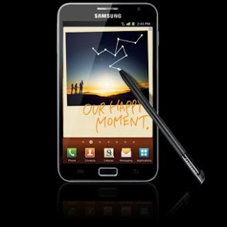 Samsung Galaxy Note Landed 17 November