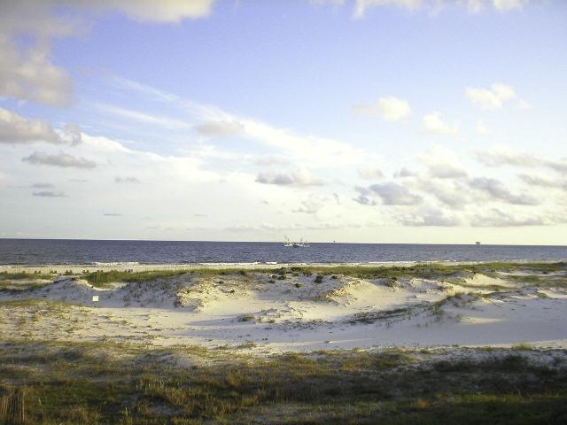 Dunes & Shrimp Boat