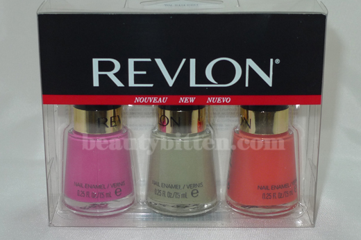 Revlon Nail Polish. Color Mini Nail Polish Set