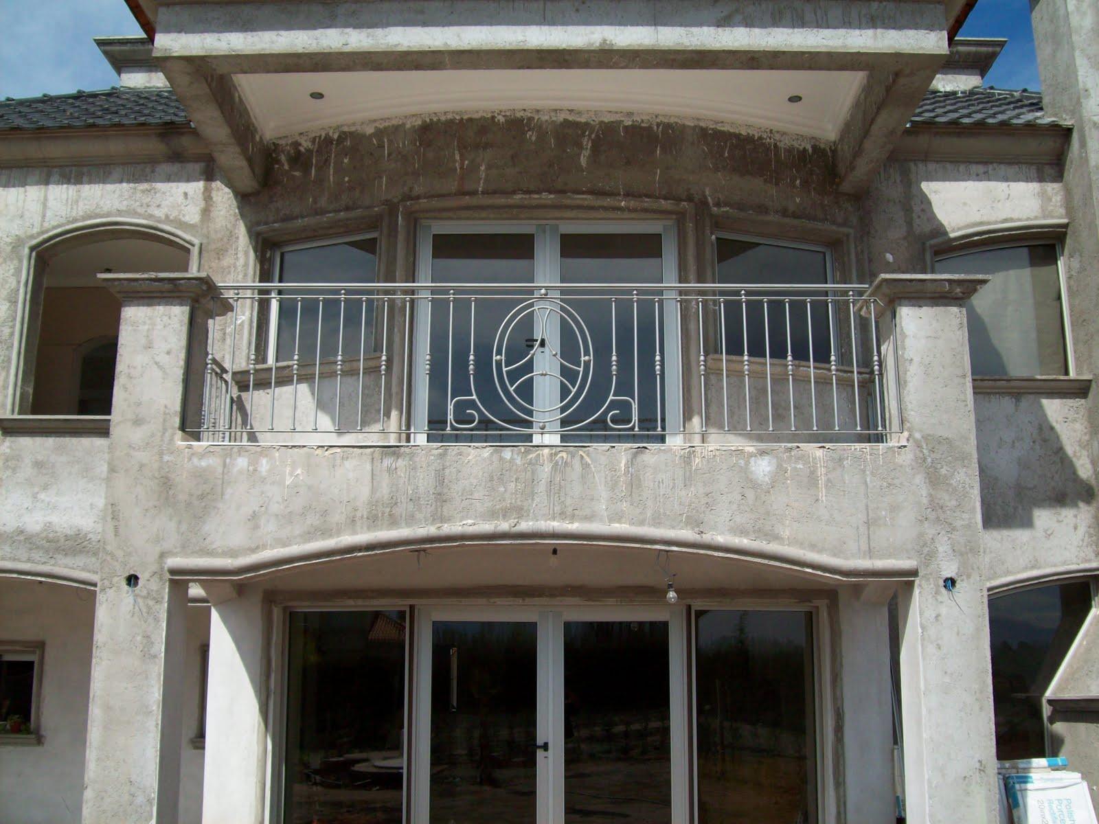 Montaje puertas todo tipo rejas barandas tanto hierro - Rejas para balcones ...