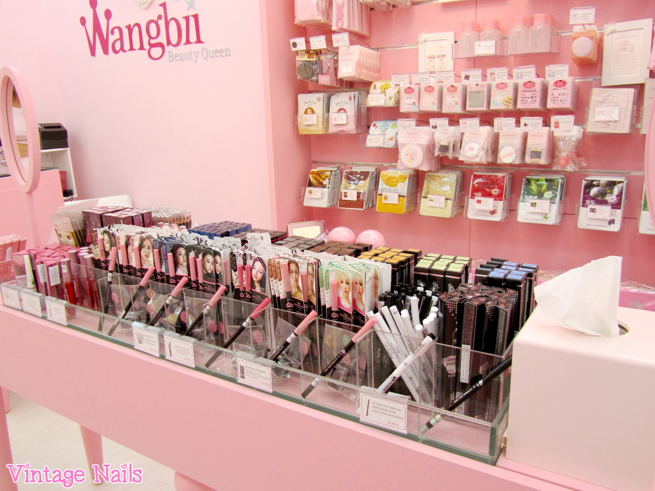 Wangbii tienda de cosm tica coreana en madrid vintage nails - Productos de decoracion ...