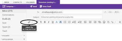 Cara Mengirim Email Berisi Dokumen dan File