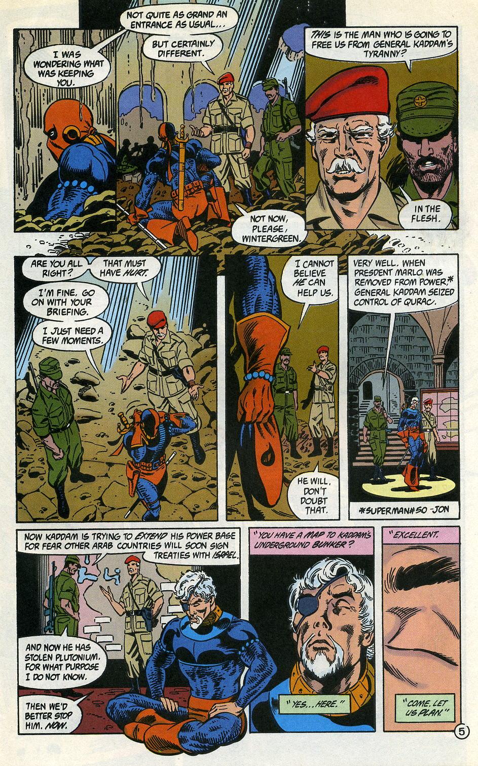 Deathstroke (1991) Issue #3 #8 - English 7