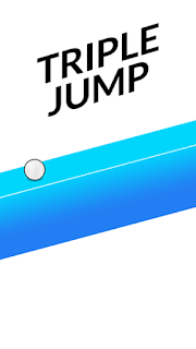 Screenshots of the Triple jump for Android tablet, phone.