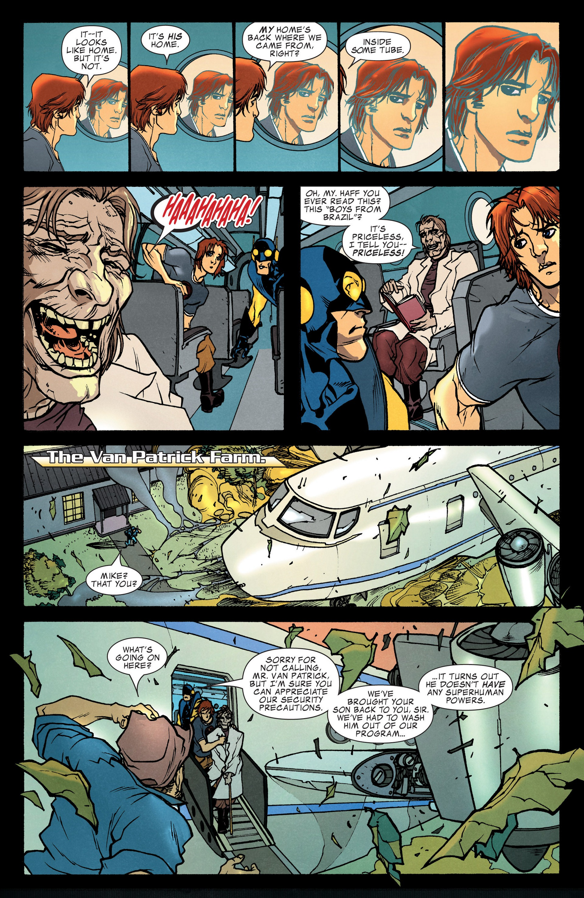 Read online Secret Invasion: The Infiltration comic -  Issue #4 - 29