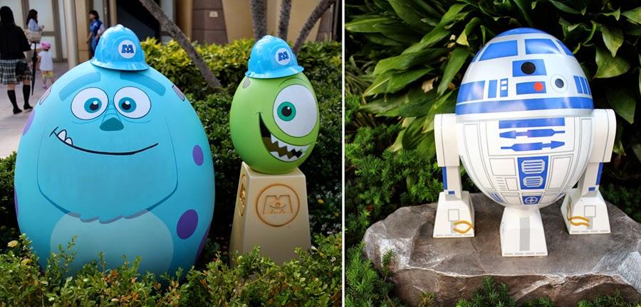 Tokyo Disneyland Easter Egg Hunt