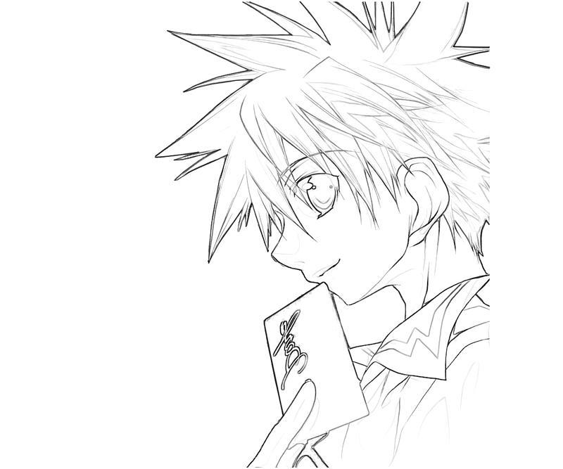 printable-daisuke-niwa-character_coloring-pages-4