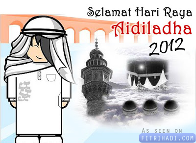 tarikh hari raya aidiladha haji korban 2012