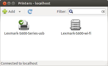 Lexmark S600 Ubuntu